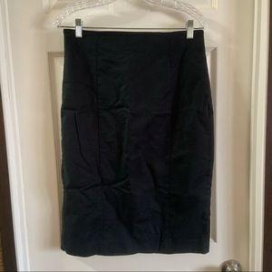 Banana Republic Black Pencil Skirt size 12